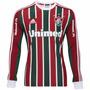 Camisa Fluminense Manga Longa 2014 Adidas C/ Nota Fiscal