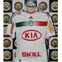 Camisa Adidas Palmeiras Ii 2012 Kia #36 L. Amaro Prep. Jogo