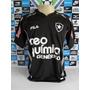 Botafogo 3rd Preta Nº 7 M.curta Tam. M Original Fila Nova