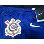 Raro Calção Corinthians Oficial Nike Azul Novo - Tenho Camis