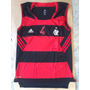 Nova Camisa Basquete Flamengo Adidas Nba Rubro Negra (marcel