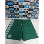 Calção De Jogo Palmeiras Verde Tam. M Original Adidas Novo