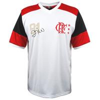 Camisa Retro Do Flamengo Campeão Mundial/81 Zico #10 Oficial