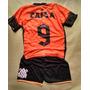 Conjuntos Bermuda + Camiseta Infantil Do Corinthians