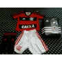 Uniforme Do Flamengo Infantil Completo - Original Adidas