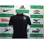 Camisa Corinthians Polo Oficial Escudos Dri-fit