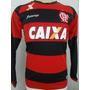Camisa Flamengo Listrada 2015 Manga Longa Frete Grátis