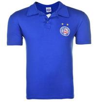 Camisa Polo Do Bahia Ofical Escudo Bordado Azul