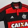 Nova Camisa Flamengo 2015 Listrada Polo (botão) Supporter