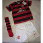 Kit Flamengo Infantil Nike Original (camisa + Short + Meião)