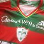 Camiseta De Jogo Portuguesa Lusa Jean Mota 19 - 2013
