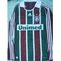Camisa Fluminense Adidas 2008 Mangas Longas