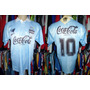 Grêmio 1995 Camisa Reserva Celeste Tamanho G Número 10.