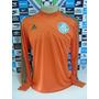 Camisa Palmeiras Goleiro Laranja Tam. M Original Adidas Nova