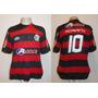 Camisa Flamengo Olympikus Ale 2009 #10 Adriano - Hexa