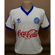 Camisa Retrô Bahia 1988 Branca - Manto Sagrado Retrô
