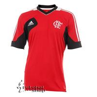Camisa Flamengo Treino Vermelha 2013 Adidas
