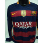 Camisa Barcelona Home 15-16 Manga Longa Neymar 11 Champions