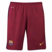 Shorts/ Calção Barcelona 2016 - Numeração Oficial De Jogador