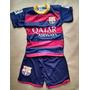 Camisa Barcelona Neymar Infantil Uniforme Camisa E Shorte