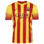 Camisa Oficial Nike Barcelona Jogo Dri Fit Original 1magnus