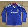 Camisa Original Chelsea 2010/2011 Home Manga Longa
