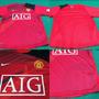 Camisa Nike Treino Manchester Vermelha S/n Oficial Tamanho M