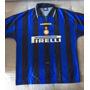 Camisa Inter Milão 1996 Umbro De Coleção - Zanetti