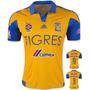 Camisa Tigres Mexico 15/16 Sobis Gignac Guerron