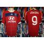 Olimpique Lyon - Camisa 2013 Reserva 9 # Lisandro