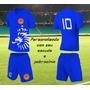 Jogo De Camisa De Futebol Personalizado Uniforme Kit 20 Cnj