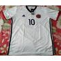 Camisa Seleção Colombia Branca 10 James Frete Grátis