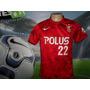 Camisa Do Urawa Red Diamonds Usada Na Liga Japonesa !!
