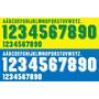 Brasil - Fontes Números, Nomes - Umbro World Cup 1994