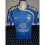Camisa Nike Seleção Brasileira Treino Azul Tamanho M
