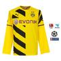 Camisa Manga Longa Borussia Dortmund Home/unif 1 2014/2015