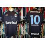 Grêmio - Camisa 2011 Reserva 4º Uniforme De Jogo # 10