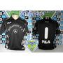 Rara Camisa Botafogo Goleiro Preta Tam.p Oficia Fila Nova