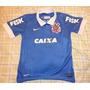 Nova Camisa Corinthians S.c.c.p Azul/roxa 2014 Oficial