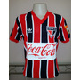 Camisa Retrô São Paulo 1989 Listrada - Manto Sagrado Retrô