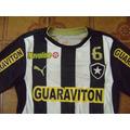 Camisa Botafogo Usada Jogo X Criciúma 16 Lima M