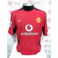 Camisa Manchester United Home 02-04 Ronaldo 7 Premier Imp