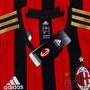 Nova Camisa Milan (italia) Listrada Pronta Entrega Unif. 01