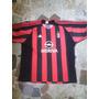 Camisa Do Milan Kaka Meriva Da Adidas Ano 2003