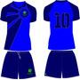 Uniforme Esportivo Personalizado Futebol Chacara Futsa 16cnj