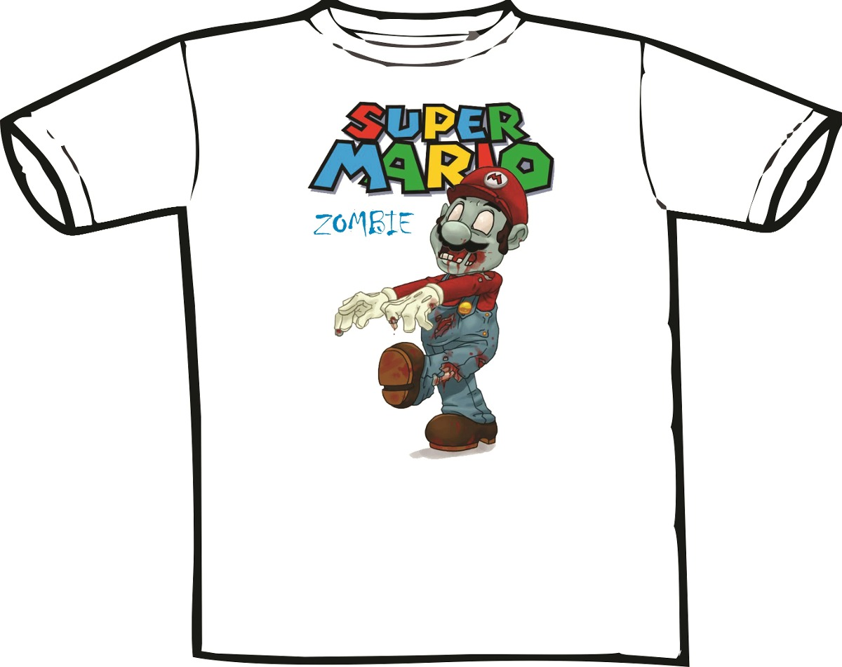 Soto tcpa settlement - Camiseta Super Mario Bros Zombie Games Hq Filmes Bandas R 33 00