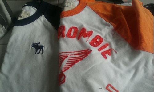 Camisetas Abercrombie & Fitch E Hollister