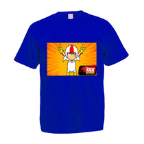 Camiseta Infantil Colorida Kick Buttowski
