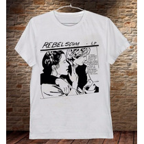 Camiseta Masculina Star Wars Cinema Sátira Sonic Youth Banda