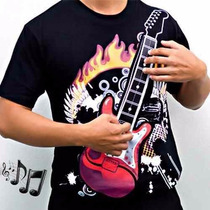 Linda Camisetas Personalizadas Rock Poliester Infantil Toca